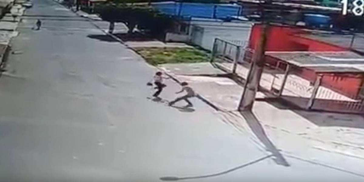Lutadora coloca bandido para correr após tentativa de assalto; VÍDEO