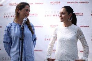 Mariana Boy y Claudia Sheinbaum