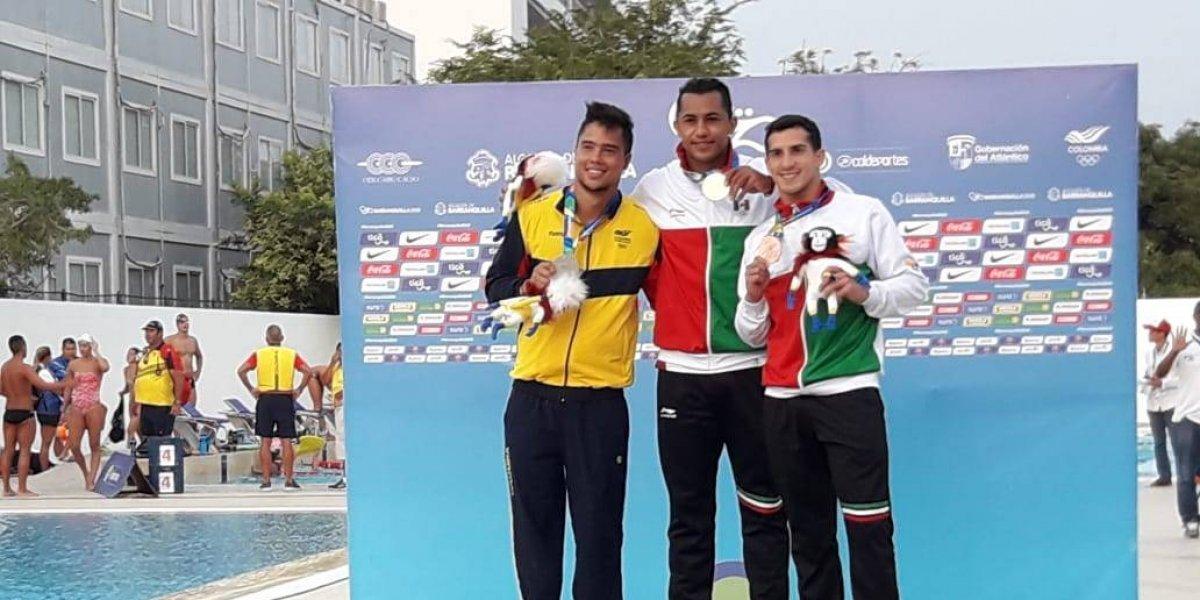 Jahir Ocampo gana medalla de oro para México en Barranquilla 2018