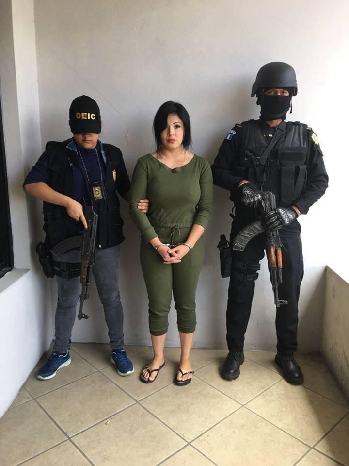 """Jenifer Beatriz Pérez Mercado, alias """"la China"""". Foto: Facebook"""