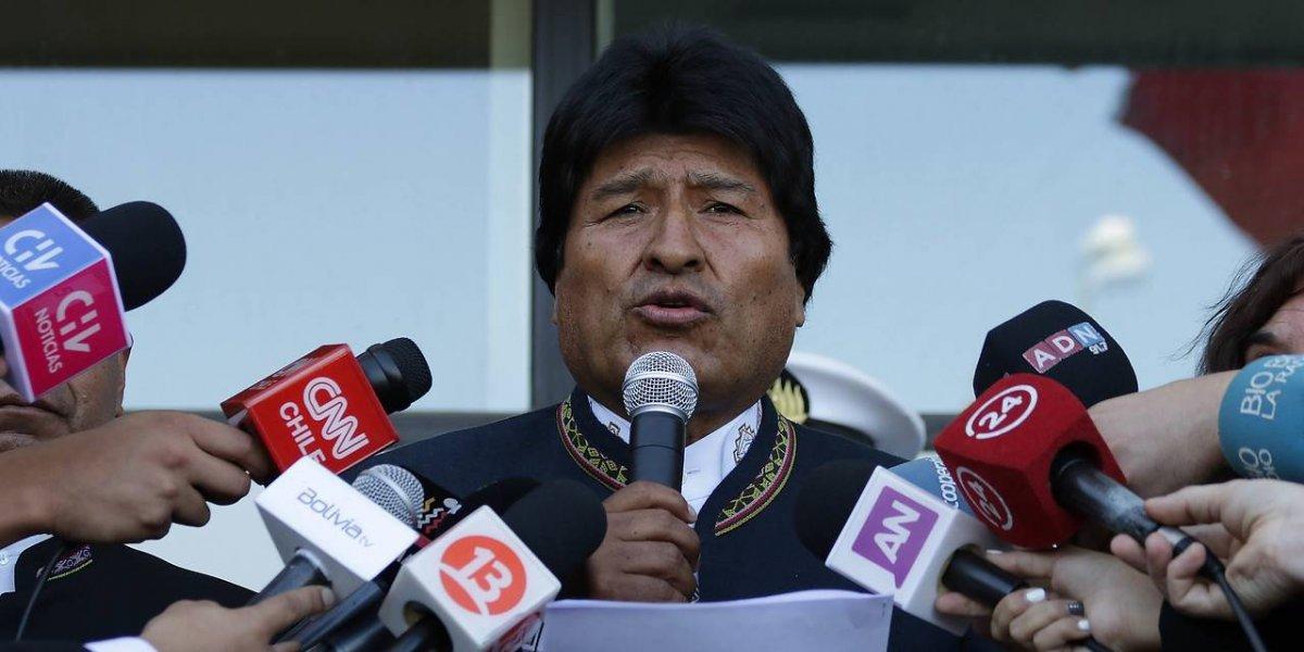 """""""Aprobaron mar para Bolivia"""": parlamentarios corrigen a Evo y le informan que La Haya """"no modificará un solo milímetro"""" del mapa"""