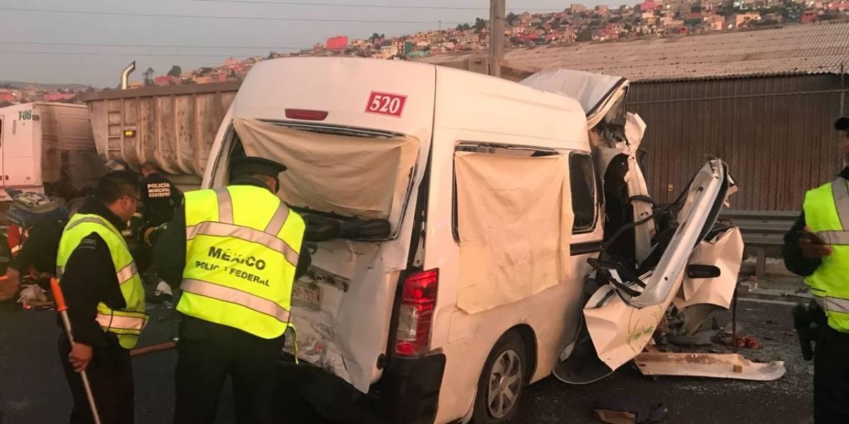 Alfredo del Mazo envía condolencias por accidente en la México-Pachuca