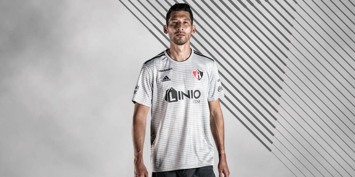Así se verá la nueva playera de Atlas FC