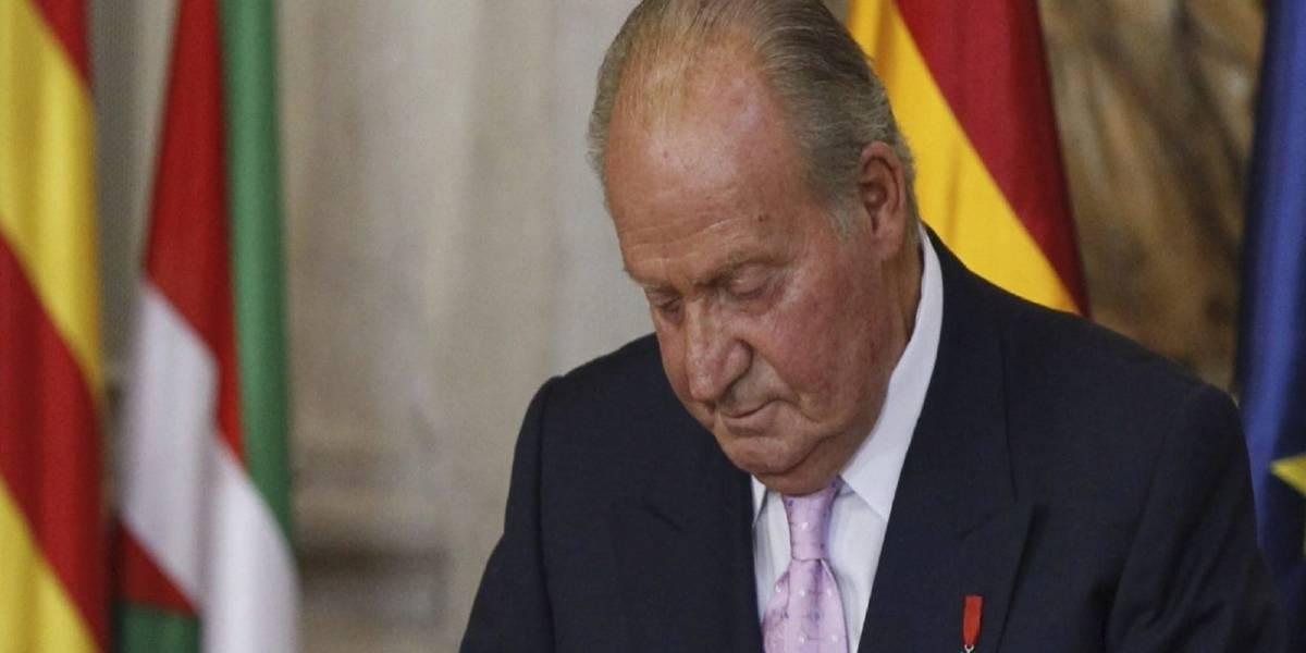 El Rey Juan Carlos I de España sufre ataque de ansiedad tras la publicación de los audios de su amante