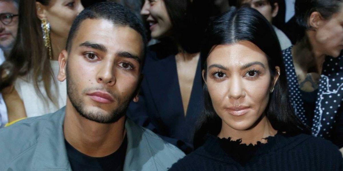 El comentario celoso que hizo el novio de Kourtney Kardashian y que ella borró