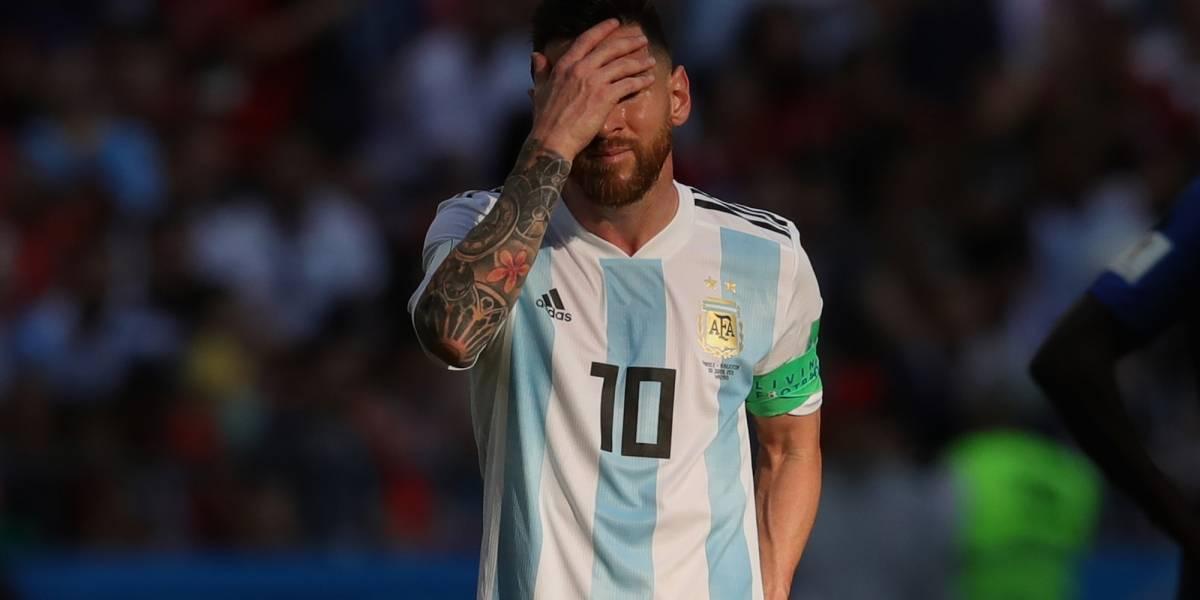 El plan en Argentina con el que Messi quedaría fuera de La Albiceleste