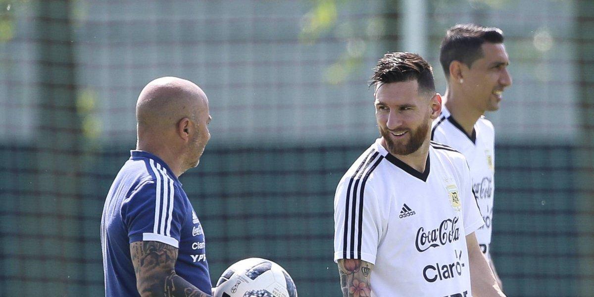 Revelan audio de discusión entre Sampaoli y Messi durante el Mundial