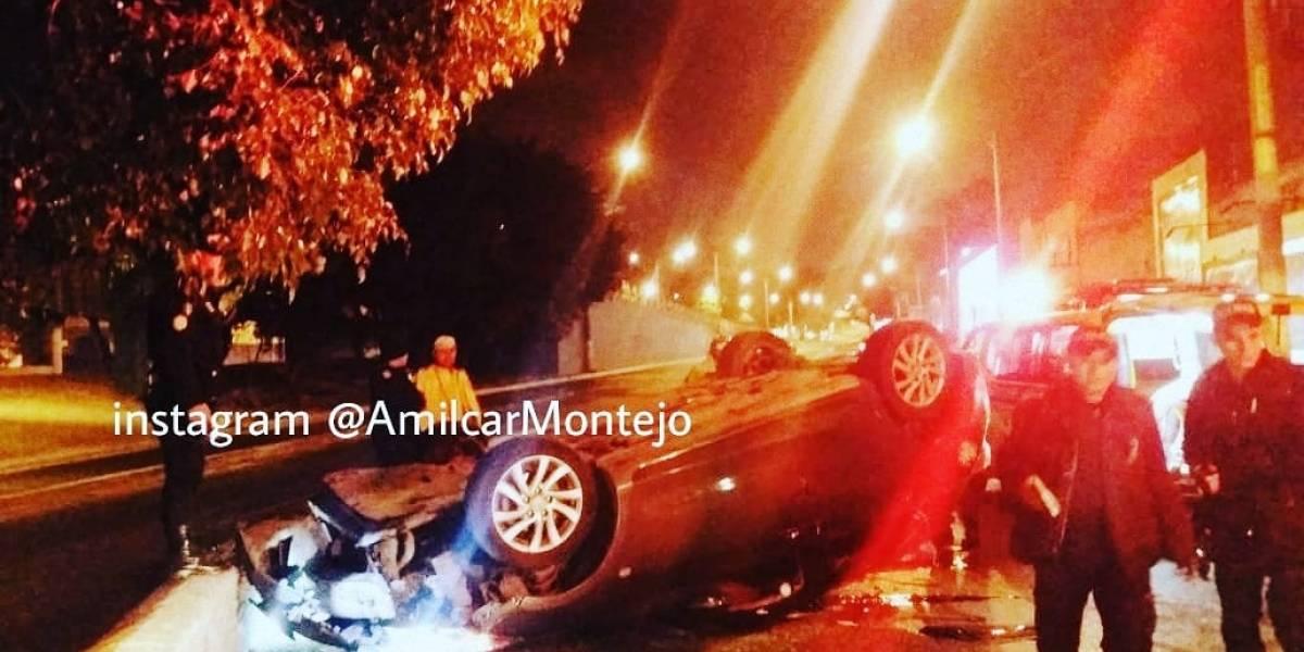 Conductor de vehículo muere tras colisión en avenida La Castellana