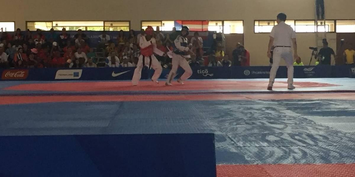 Nelson Acajabón, en taekwondo, asegura medalla para Guatemala