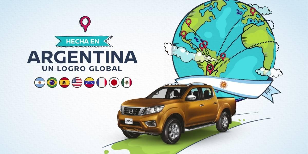 Producción argentina de la camioneta Nissan NP300: un trabajo global
