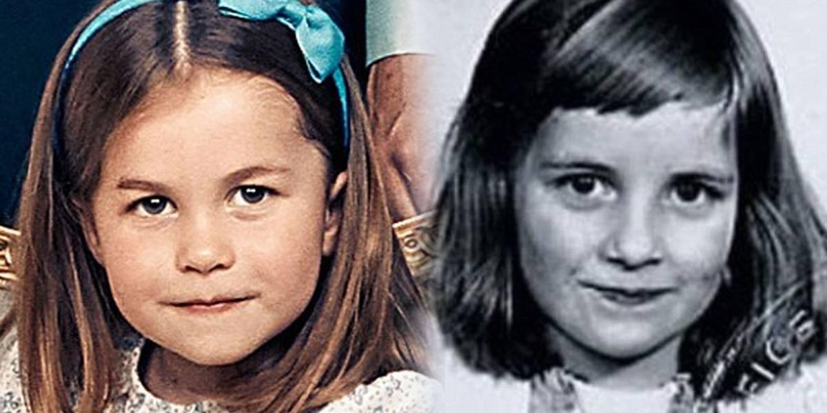 ¡Los mismos ojos de Diana! La Princesa Charlotte es comparada con su abuela Lady Di