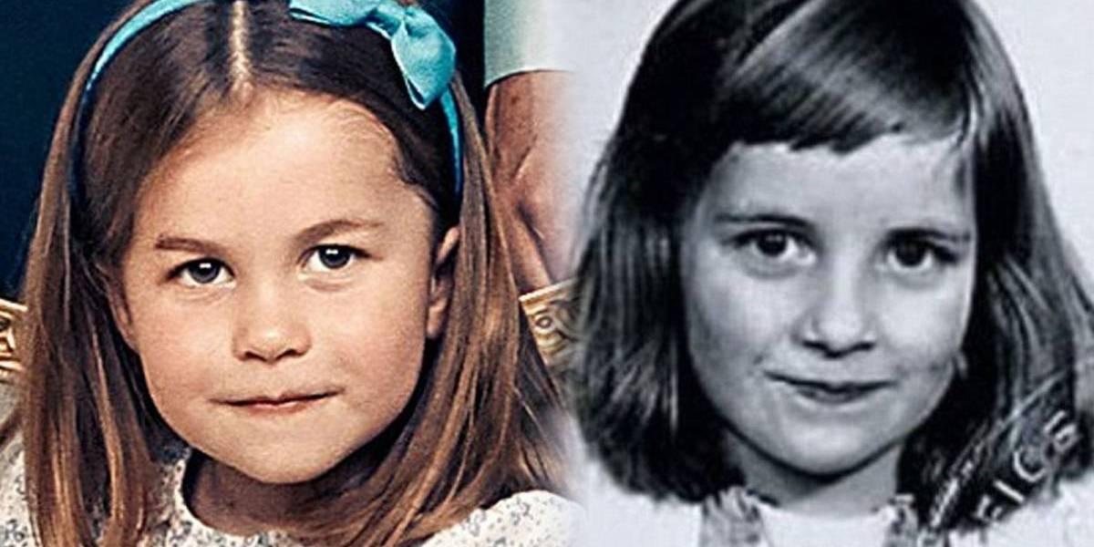 Os mesmos olhos de Diana: Princesa Charlotte é comparada com sua avó Lady Di