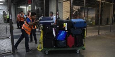 fallas en bandas de equipaje en Aeropuerto Internacional La Aurora