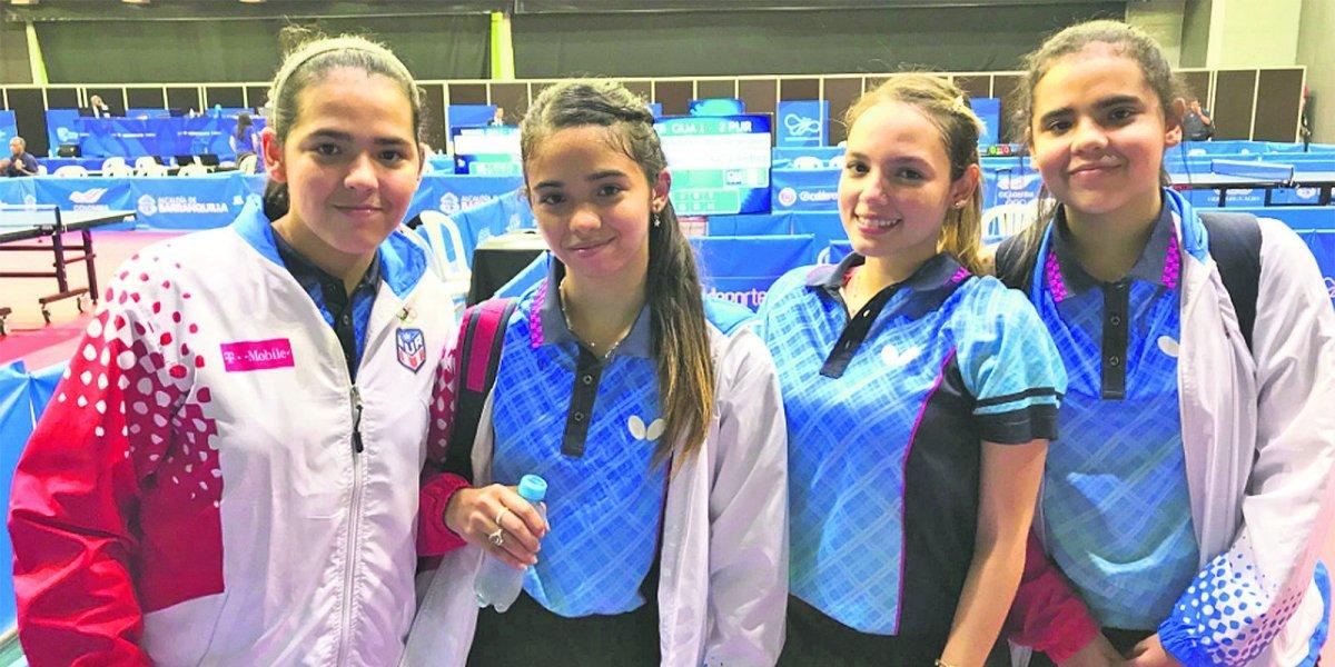 ¡Oro para Puerto Rico! Tenis de mesa logra primera medalla de oro en Barranquilla