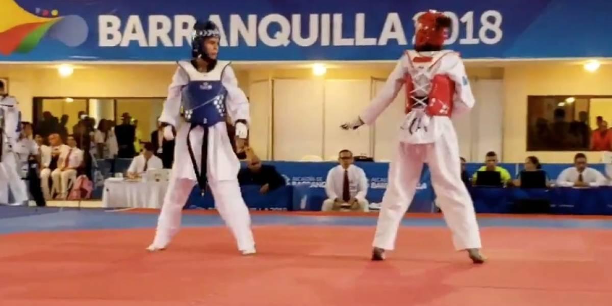 Segunda medalla para P.R. en Taekwondo