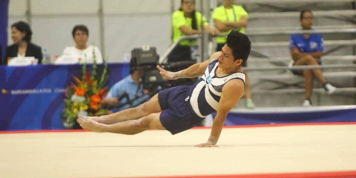 Jorge Vega se aumotiva previo a su participación en las finales de los Centroamericanos y del Caribe