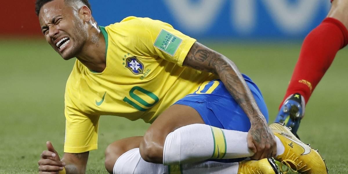 Neymar habló sobre sus simulaciones de falta en el Mundial de Rusia 2018