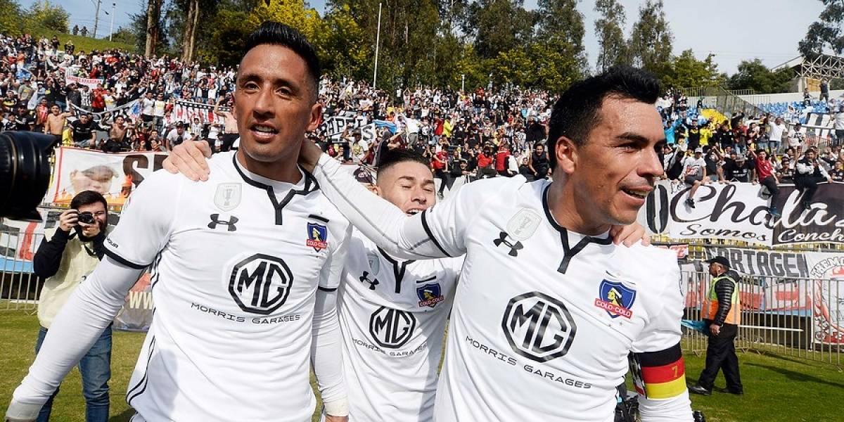 Barrios y Paredes se combinaron para darle un triunfo clave a Colo Colo ante La Calera