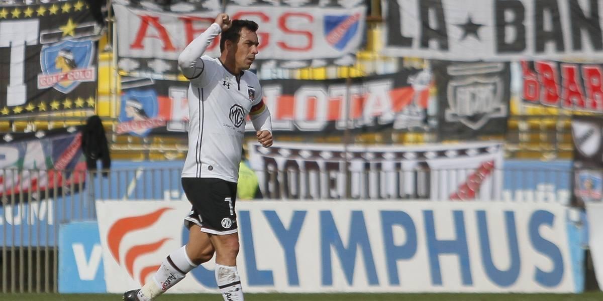 "Esteban Paredes pone calma en Colo Colo: ""Veremos si esto nos alcanza para ser campeones"""