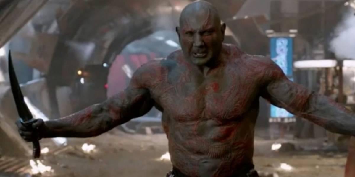 Bautista sale en defensa del despedido director de Guardianes de la Galaxia