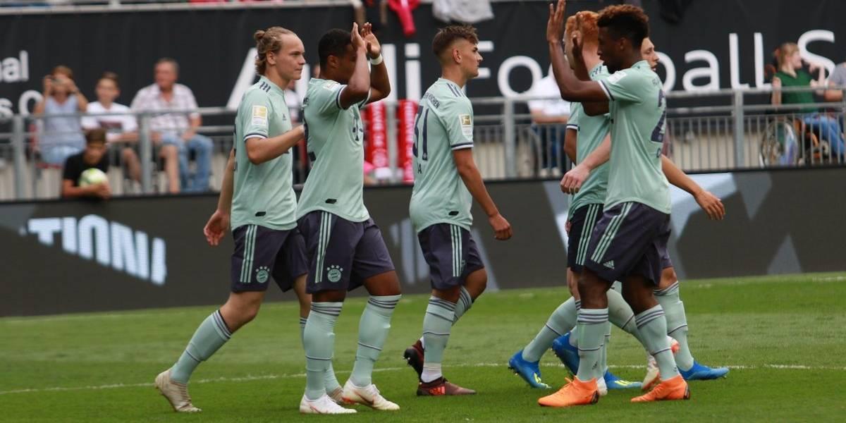 ¿Y Vidal? Un Bayern lleno de suplentes no necesitó al Rey para vencer al PSG en su primer amistoso