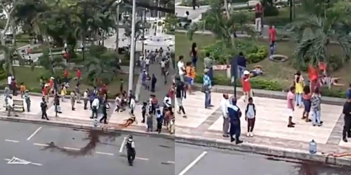 Policía Nacional desmiente video de supuesta explosión de bomba en Esmeraldas