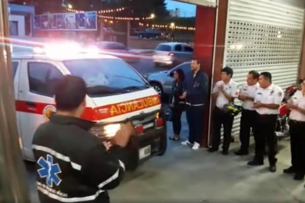 Unidad bomberos Voluntarios