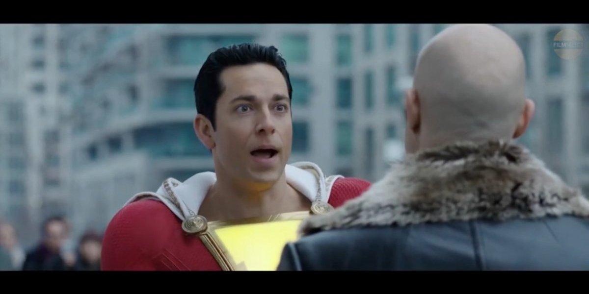 Todos tenemos un superhéroe dentro de nosotros. Primer tráiler de Shazam!