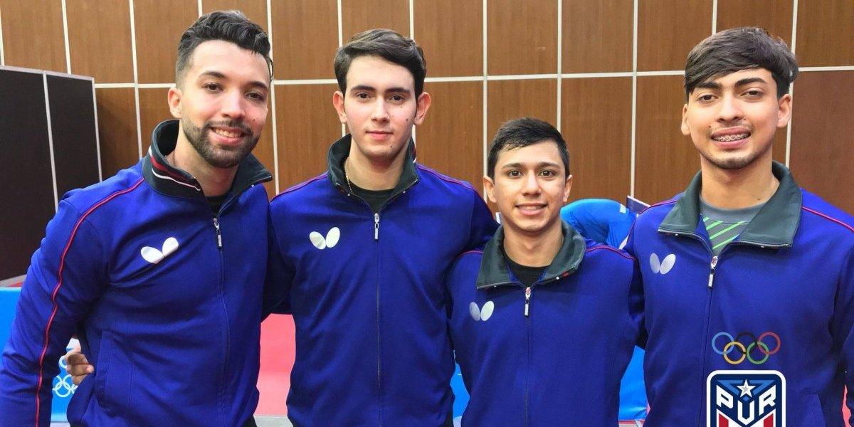 Boricuas alcanzan plata en tenis de mesa masculino en Barranquilla