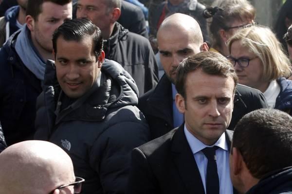 Guardaespaldas de Macron