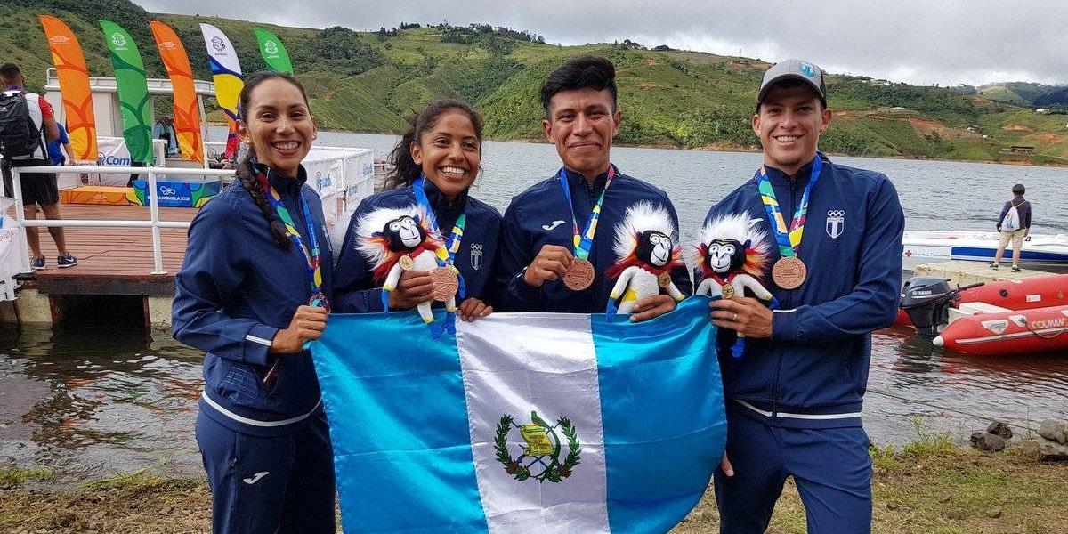 Guatemaltecos remaron hacia el éxito y suman más medallas para el país