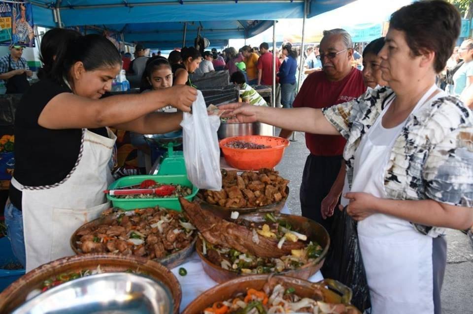Feria del Chicharrón. Foto: Omar Solís