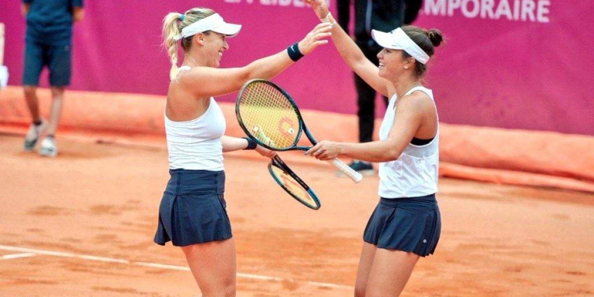 Alexa Guarachi rompe sus límites y llega a su primera final WTA en dobles