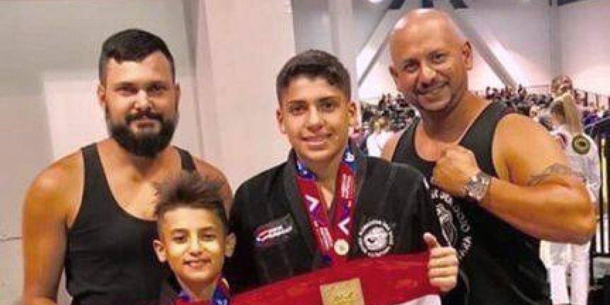 Jóvenes puertorriqueños brillan en competencias de jiu-jitsu en Las Vegas