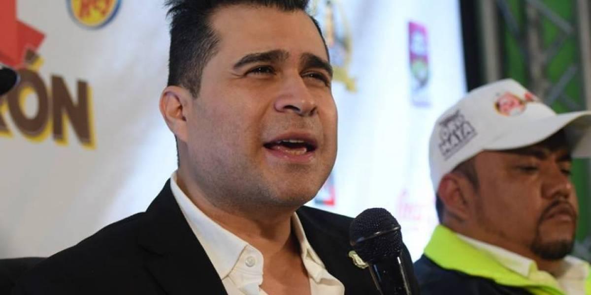El alcalde de Mixco revela por qué no puede comer chicharrón
