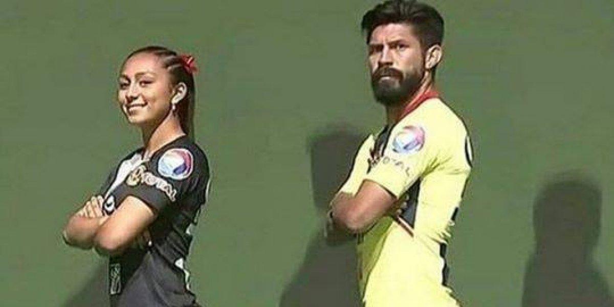 Oribe Peralta tuvo una erección en la presentación del uniforme del América