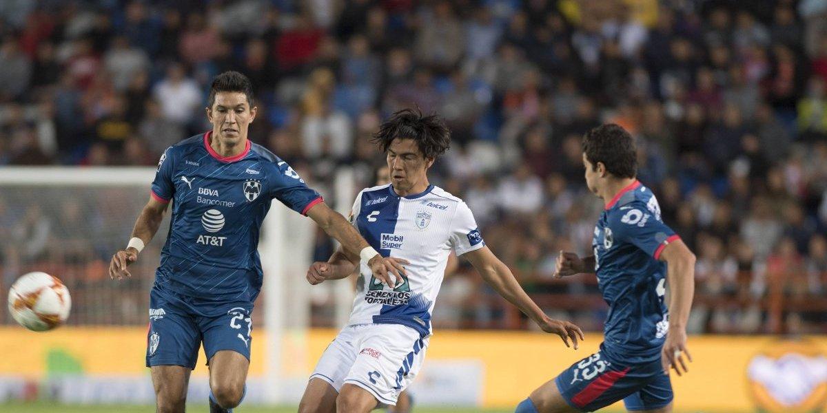 Monterrey vence de visita 1-0 a Pachuca