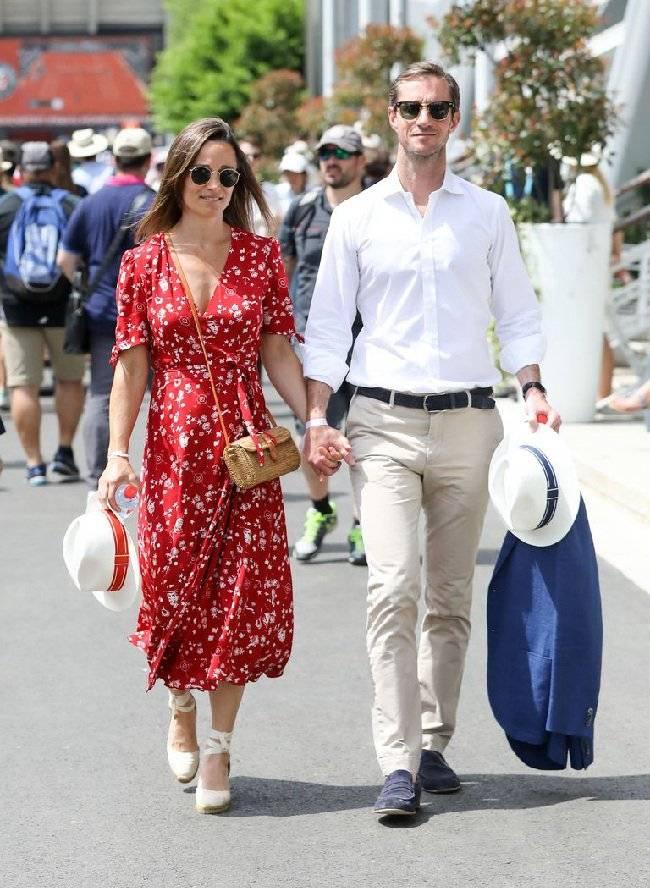 Pippa Middleton alpargatas