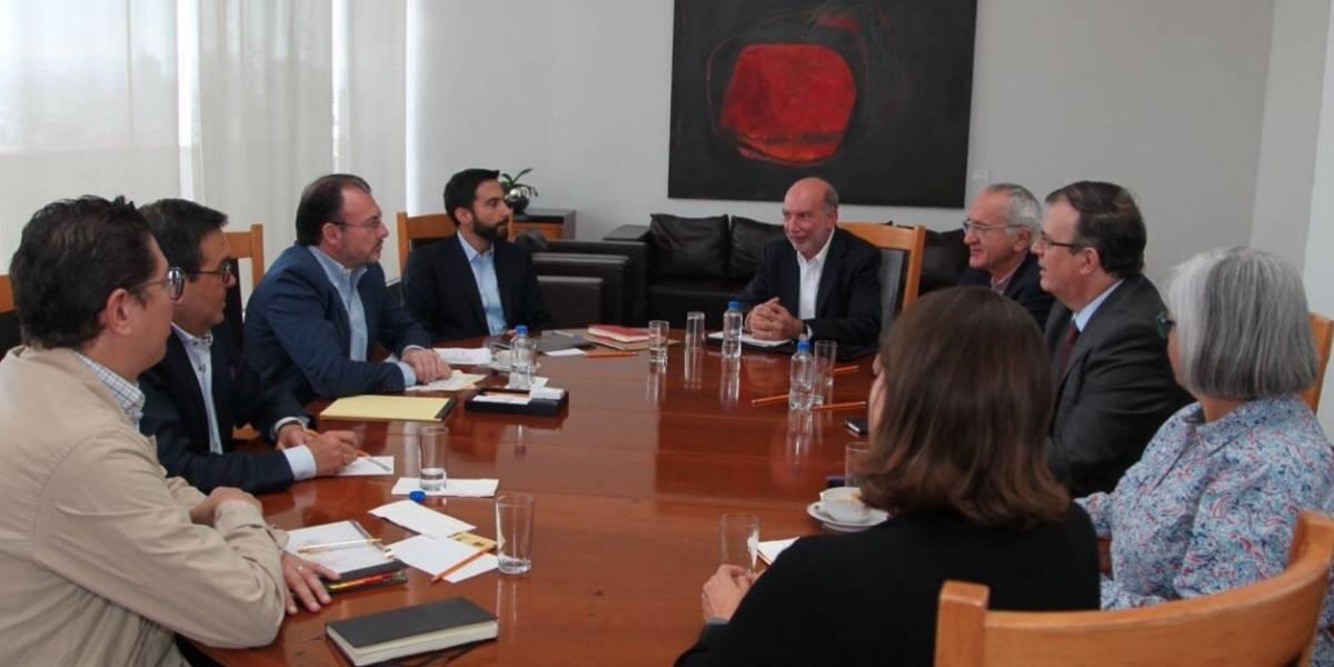 Ebrard, Videgaray y Guajardo afinan detalles sobre renegociación del TLCAN