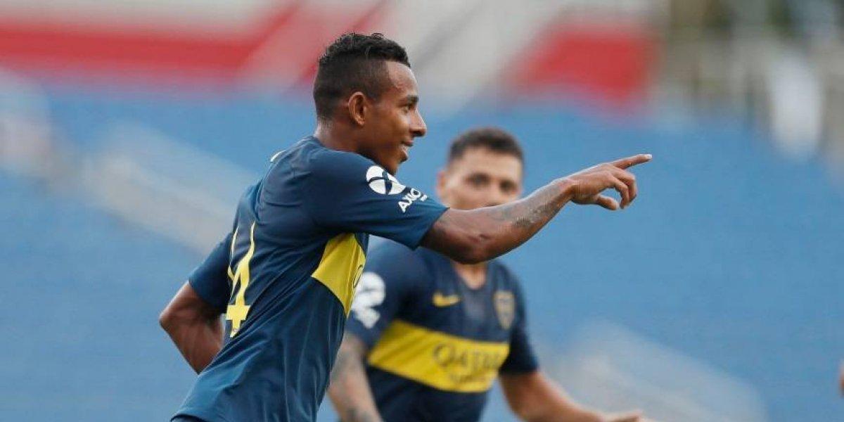¡Nace un crack! Golazo de Sebastián Villa en su debut con Boca Juniors