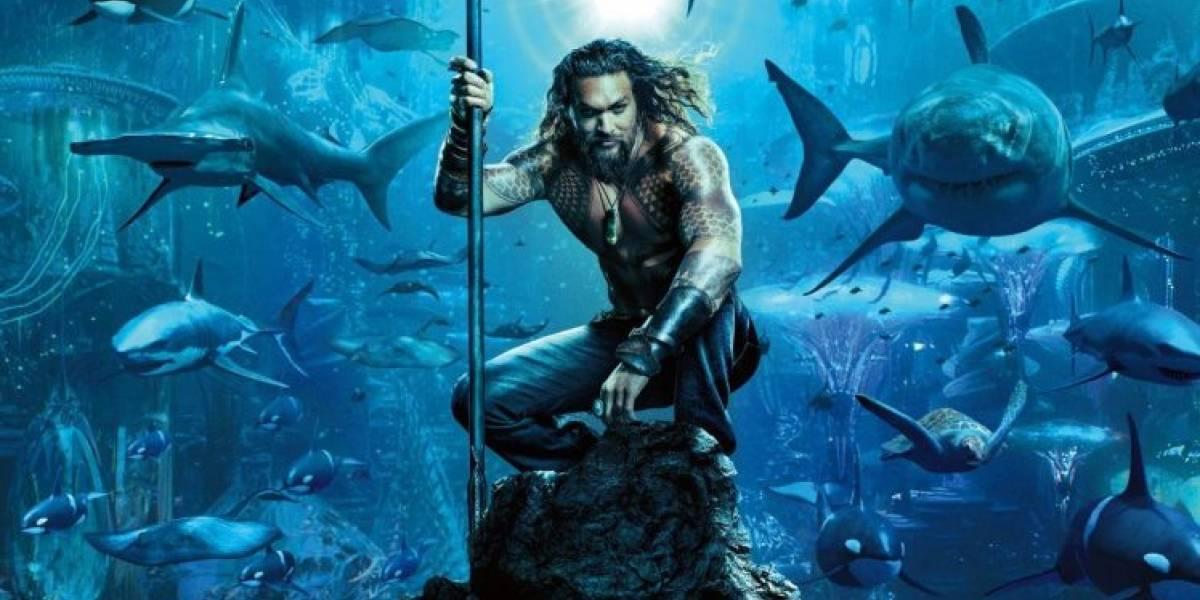 Mira aquí el primer trailer de Aquaman protagonizada por Jason Momoa