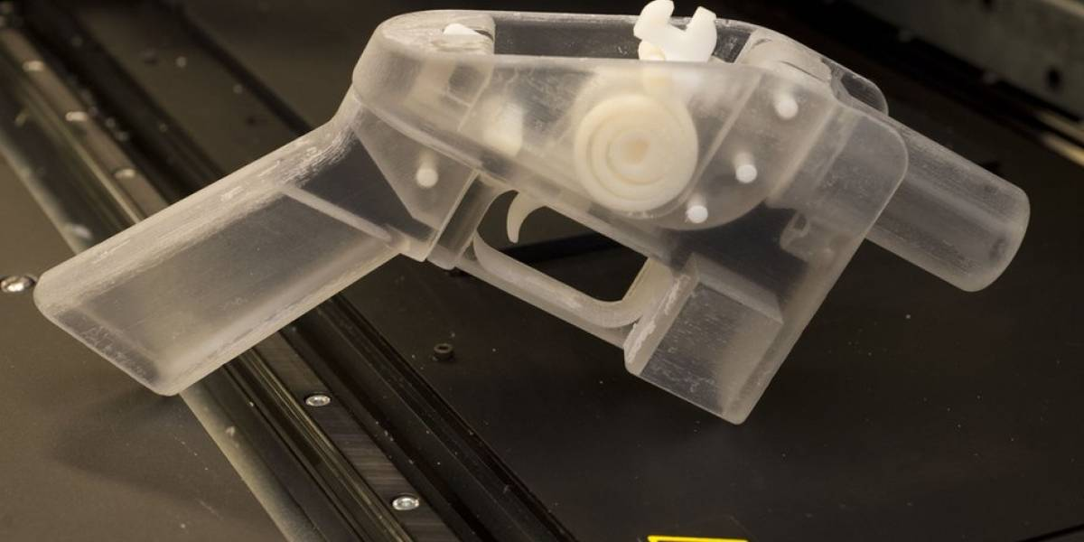 EUA geram polêmica ao permitir que qualquer pessoa fabrique arma de fogo com impressora 3D