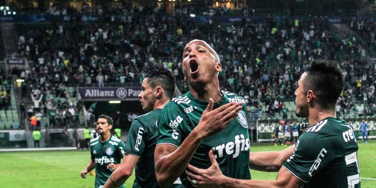 Bruno Henrique faz nos acréscimos e Palmeiras bate Atlético-MG em jogo de 5 gols