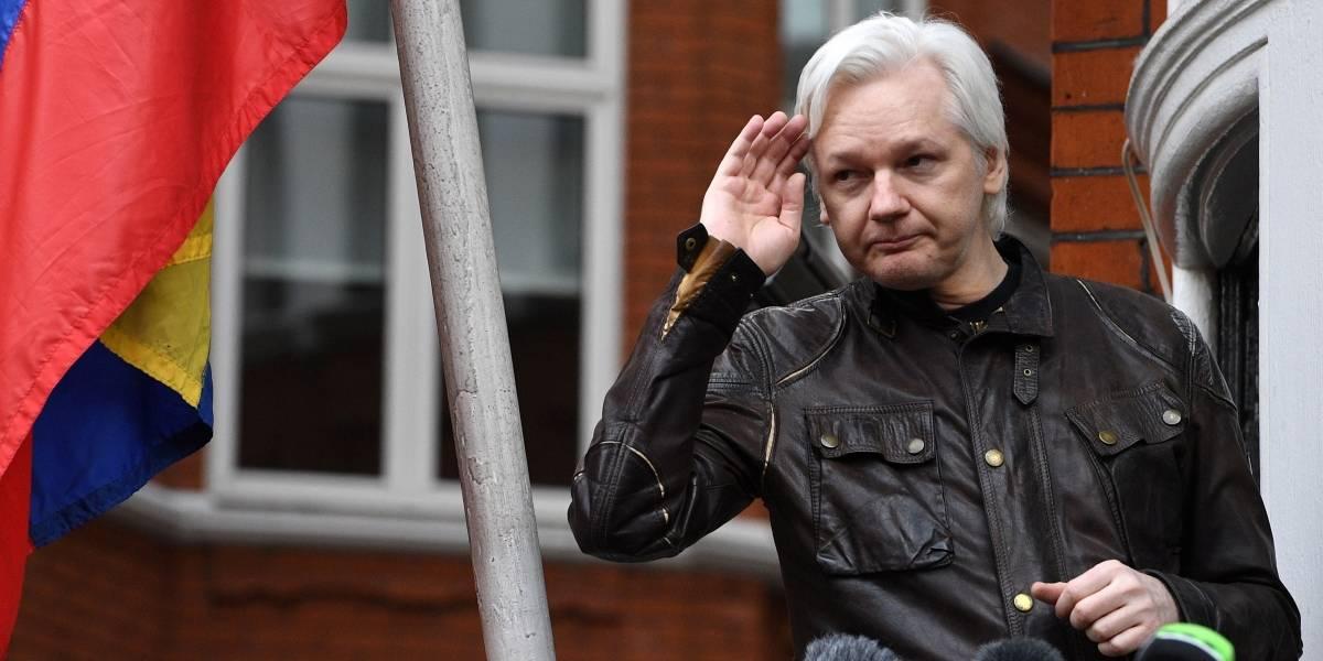 """Julian Assange demanda a Ecuador por """"violar los derechos fundamentales"""""""