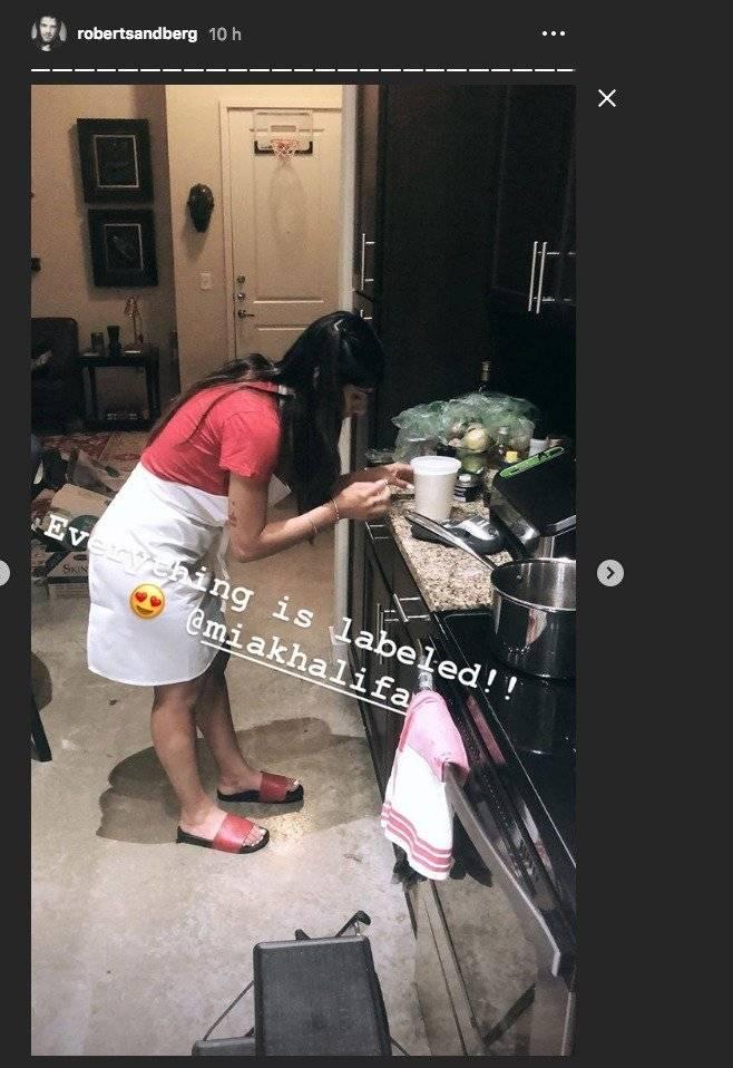 El sexy chef que le habría robado el corazón a Mia Khalifa Instagram