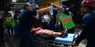 La explosión en la plan de gas alertó a varias instituciones.