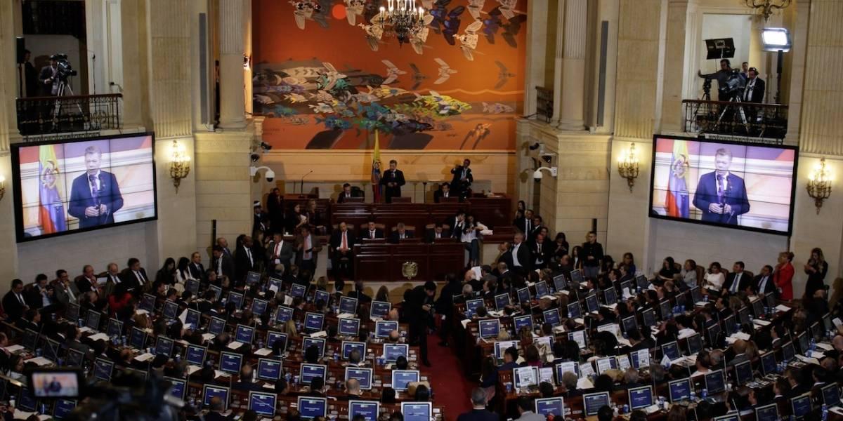 Los 10 aspirantes a contralor se presentaron ante el Congreso