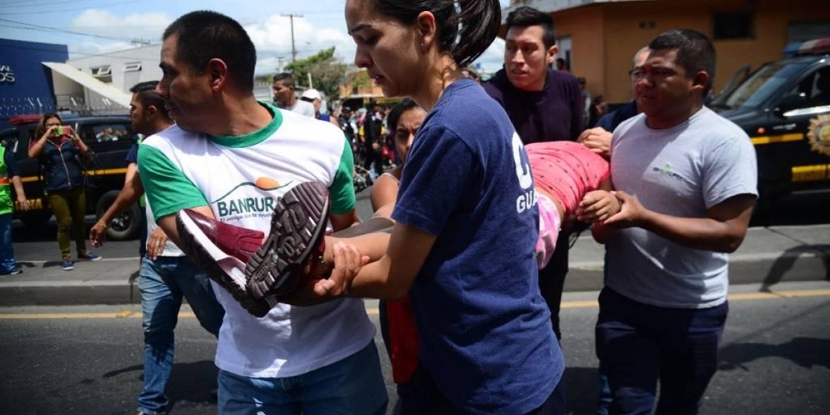 Los heridos y afectados por la explosión en la planta de gas