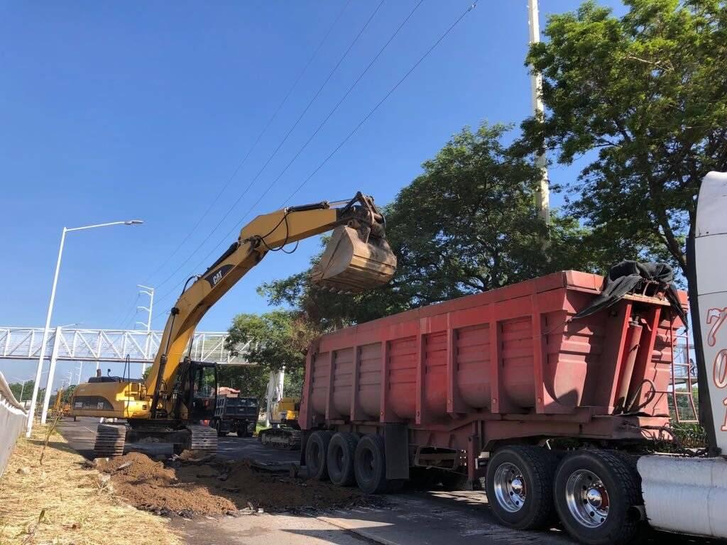 Inician nuevo frente de obras en Periférico Oriente
