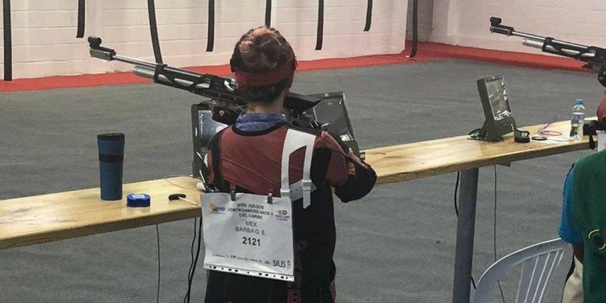 Representativo femenil mexicano de tiro con rifle obtiene plata